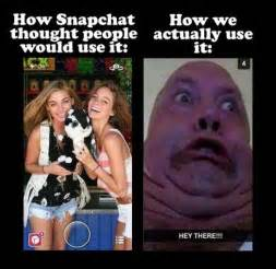 Snapchat Memes - snapchat expectation vs reality http www jokideo com 4 stress relief pinterest