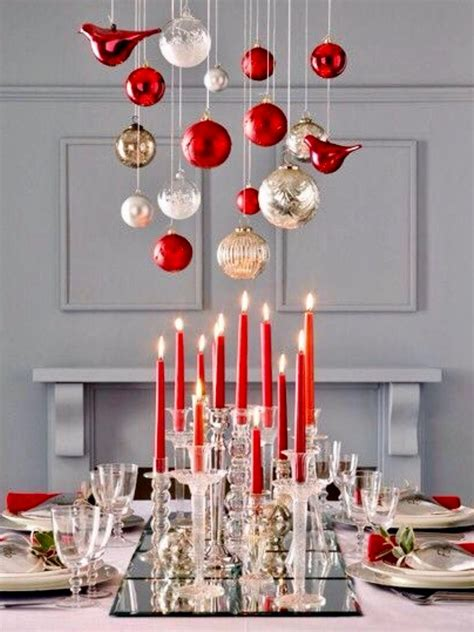 top  christmas table decorating ideas  pinterest