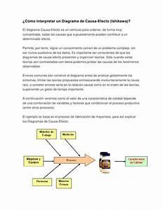 C U00f3mo Interpretar Un Diagrama De Causa Efecto  Diagrama De