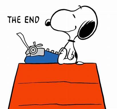 Snoopy Clipart Author Famous Writing Finishing Clip