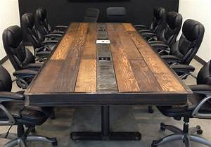 Items similar to Industrial/Vintage Conference Room Table