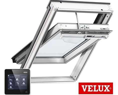 velux integra solar ggl white painted integra 174 solar windows extons roofing supplies