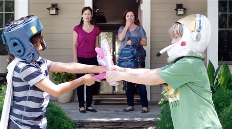 This Epic Front Yard Dildo Battle Suddenly Becomes