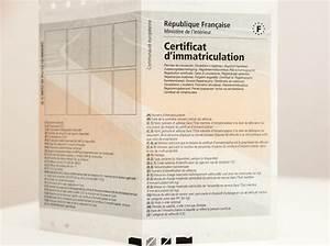 Vehicle Registration Certificate Certificat D