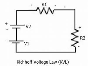 kirchhoff39s current law and kirchhoff39s voltage law kclkvl With current law