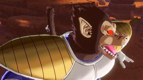 Fight Great Ape Vegeta And Enter The Tenkaichi Budokai