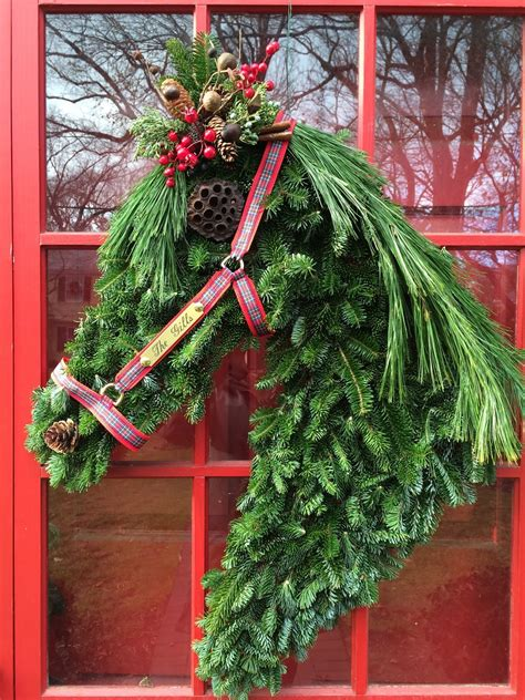 rantings of a horse mom holiday wreath how to make a