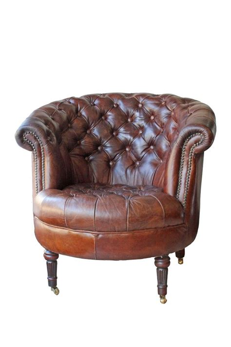 25 best ideas about brown leather chairs on