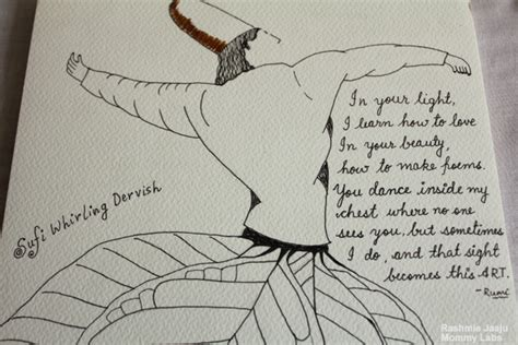 Artwork For Kids To Do by Sufi Whirling Dervish Leaf Art Inspired By Rumi S Poetry