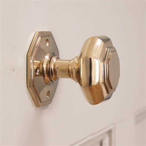 front door handles octagonal brass door knobs
