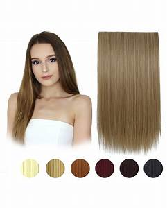 FESHFEN 24 One Piece 34 Full Head Clip In Hair Extensions