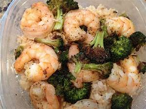 Sweets & Treats: Healthy Shrimp Dinner