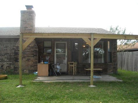 building a patio cover how to build a patio cover with a corrugated metal roof