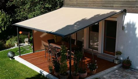 retractable pergola awning  quality design black stained finish tough steel posts crossbeams