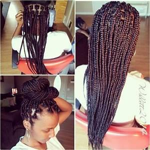 Big/Large Box Braids. | large box braids | Pinterest ...