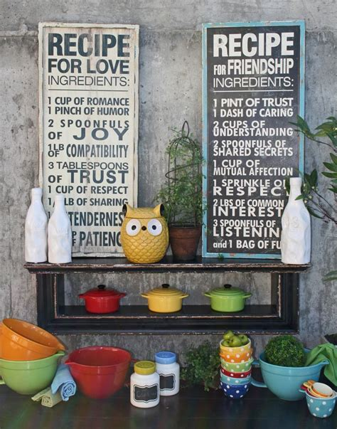 colorful owl kitchen decor 25 best ideas about kitchen decor signs on 5575