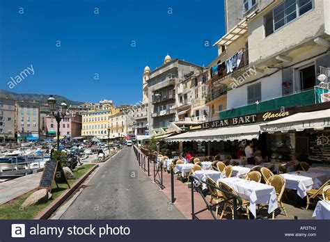 cafe in the vieux port terra vecchia bastia corsica
