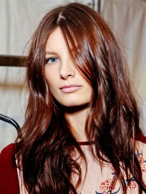 Couleur Cheveux Acajou Couleur De Cheveux Acajou 64 Photos Pour Choisir Votre Nuance Archzine Fr