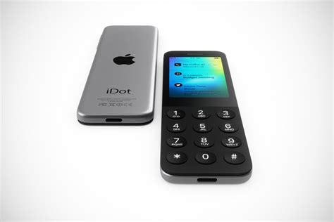 introducing idot  dumbphone  apple concept iphone