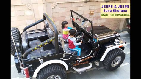 Modified Jeeps Mandi Dabwali, Call 9810246064, Jeeps