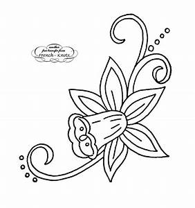 Free Floral Hand Embroidery Transfer Patterns