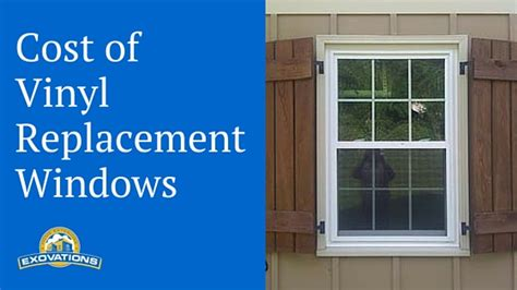 pay  vinyl replacement windows