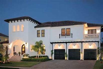 Custom Bayshore Homes Exterior Estates Tampa Exteriors