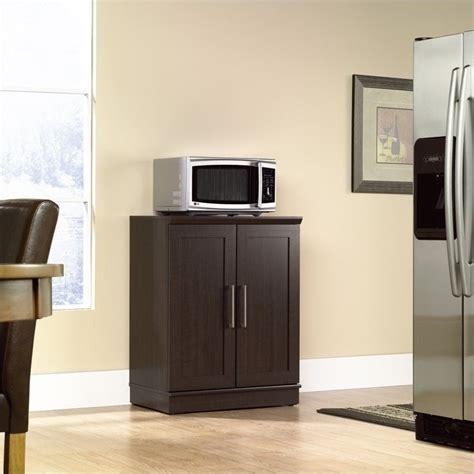 Sauder Homeplus Base Cabinet Brown by Sauder Homeplus Base Cabinet Dakota Oak Microwave Cart Ebay