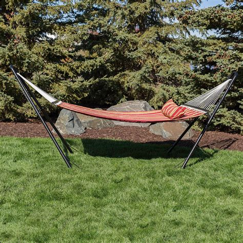 Hammocks With Stands by Universal Hammock Stand Black Steel Multi Use Fits