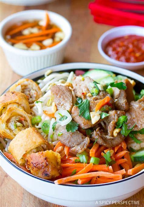 chignon cuisine bun cha gio a spicy perspective