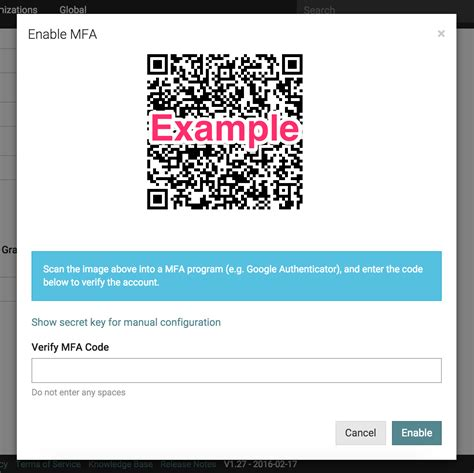 Office 365 Qr Code by Set Up Multi Factor Authentication Mfa It Glue