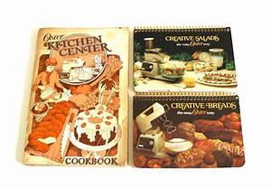Oster Kitchen Center Owners Manual Cookbook Instructions