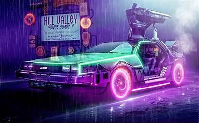 Delorean Retro Future Concept Movie Wallpapers Dmc