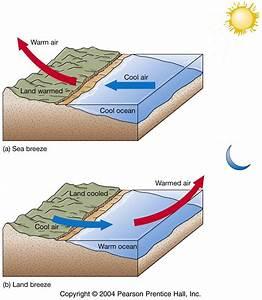 Land And Sea Breeze Diagram