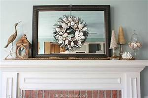 Coastal Mantel - Sand and Sisal