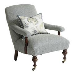 salon wing dining chair upholstered wingback chairs londonderry air chair culp birdsong seamist to purchase