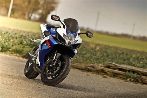 Blue Motorcycle Suzuki Gsx-r 750