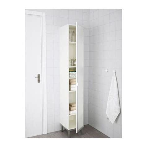 Ikea Badmöbel Lillangen by Lill 197 Ngen High Cabinet White Aluminum For The Home