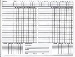 Bowling Spreadsheet Pics Photos Sheet Baseball