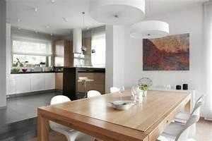 Designer Hängelampen Esstisch : elegantes designer haus von widawscy studio architektury in zabrze ~ Markanthonyermac.com Haus und Dekorationen