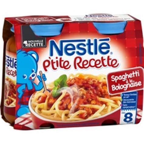 petits pots b 233 b 233 d 232 s 8 mois spaghetti bolognaise nestl 233 tous les produits assiettes petits