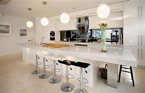 kitchens with island benches home dzine kitchen the kitchen island makes a comeback