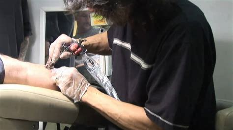 Tattoo Sessions Jason's New Leg Tattoo, Check It Out