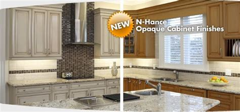 N Hance Cabinet Refinishing by Opaque Cabinet Refinishing N Hance Kitchens
