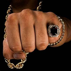 mens 14k gold plated hip hop iced red ruby cz ring size With hip hop wedding rings