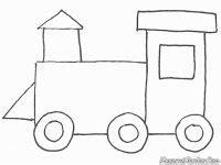 Coloring Kereta Api by Menggambar Dan Mewarnai Kereta Api Mewarnai Gambar