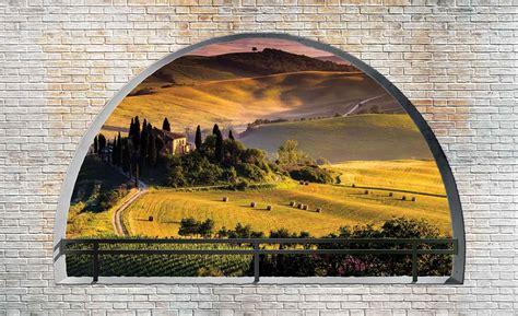 Fototapete Fenster Aussicht by Fototapete Tapete Italienische Landschaft Fenster