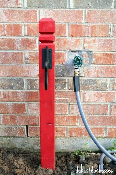 diy hose holder dukes and duchesses