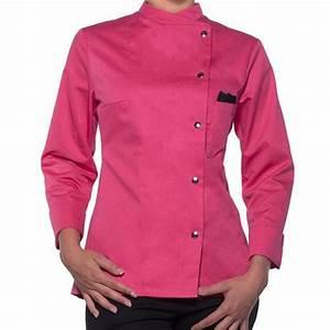 Tenue De Cuisine Femme : accueil vetement pro restauration veste de cuisine femme colors ~ Teatrodelosmanantiales.com Idées de Décoration