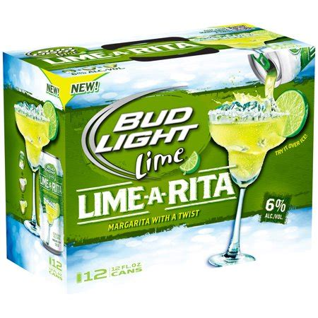bud light ritas bud light lime a 12 pk 12 fl oz cans walmart